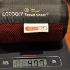 Inlett Thermolite (Radiator):  Gewicht nachgewogen