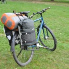 Ortlieb vs Thule - friedlich vereint an Gabriels Fahrrad
