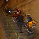 Wer sein Fahrrad liebt, ... die Reflektorstreifen fallen sofort ins Auge