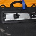 Gepäcktaschen: Befestigungsschiene