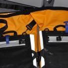 Einfache Weitenverstellung möglich, damit die Radtaschen perfekt am Gepäckträger sitzen