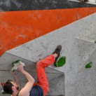 23 Boulder: Man konnte auch gut auf dem Block liegen und filmen