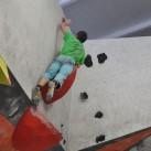 23 Boulder: wenn man kurz genug ist, geht es auch mal in Bauchlage