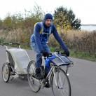 auf Radtour mit dem Deviator Hoody Men