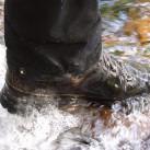 Wasser (nicht nur von oben) und ...