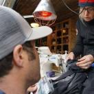 Reparatur-Experten unter sich: Barbara und Andy
