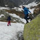 Breakout-Y Jacket: Mit zuverlässiger Jacke kann man auch den Sprung in den Schnee wagen...