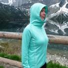 Pyua Ascend Hooded Women: Die Kapuze ist sehr geräumig!