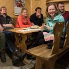 Pyua Ascend Hooded Women: auch angenehm beim gemütlichen Sitzen in der Hütte