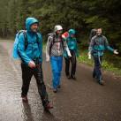 tapir-Testtour durch die Hohe Tatra: Der Regen hatte uns wieder eingeholt.
