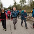 Tapir-Testtour durch die Hohe Tatra: Softshell oder Hardshell, jeder hatte sich für etwas anderes entschieden.