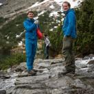 Tapir-Testtour durch die Hohe Tatra - Markus und Matthias mit dem Squall Hooded Jacket von ME auf Tour