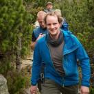 Partnerlook (?!): Matthias trug ebenfalls das Squall Hooded Jacket durchs Gebirge