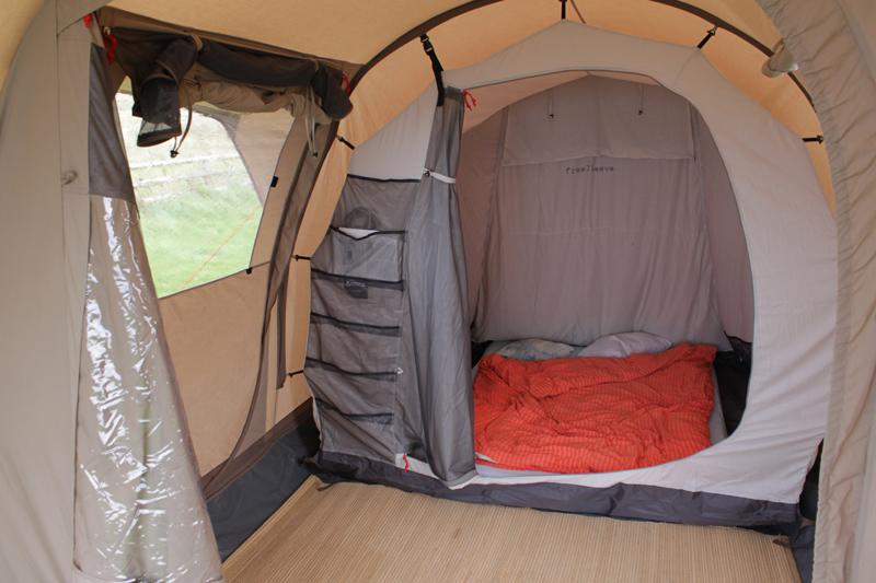 tapir testlabor reiseberichte informationen testbericht zum baumwollzelt nomad lodge 2 air. Black Bedroom Furniture Sets. Home Design Ideas