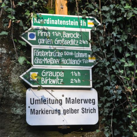Auf Abwegen: Als Kletterer auf dem Malerweg