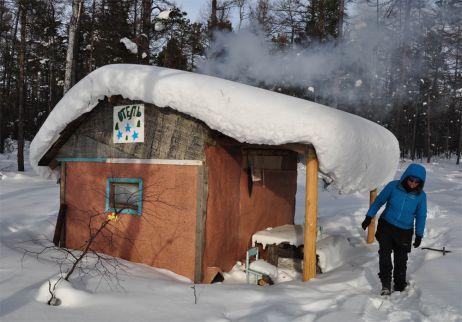 Einmal zu Fuß über den Baikal – im Winter