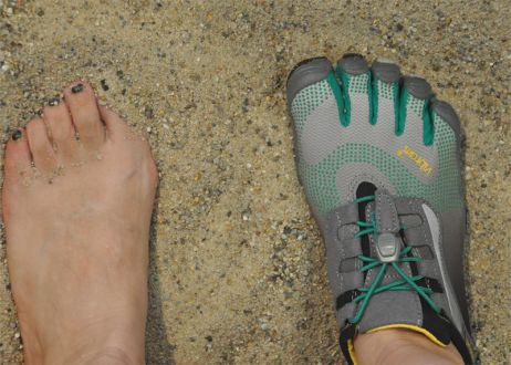 Welcome back im tapir – Five Fingers Schuhe von Vibram