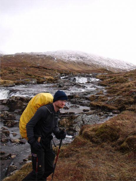 In Schottland mit dem Crewneck 200 von Woolpower