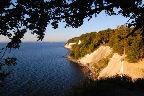 Steilküste im Morgenlicht