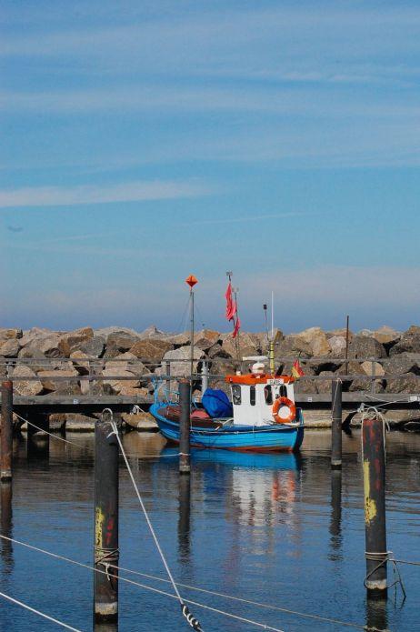 Im Hafen von Lohme