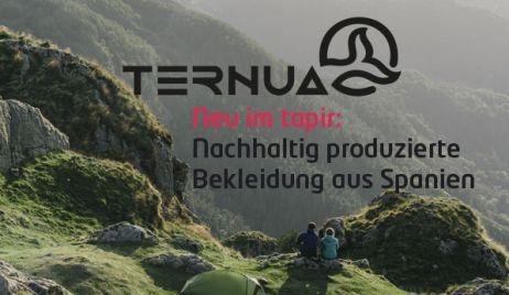 Neu im tapir und mit viel Herz für die Umwelt: Ternua