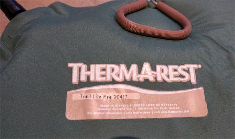 Testbericht: Trail Lite™ regular von Therm-a-Rest