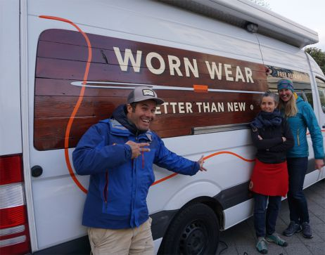 Patagonia Worn Wear Tour – am 25. April im tapir!