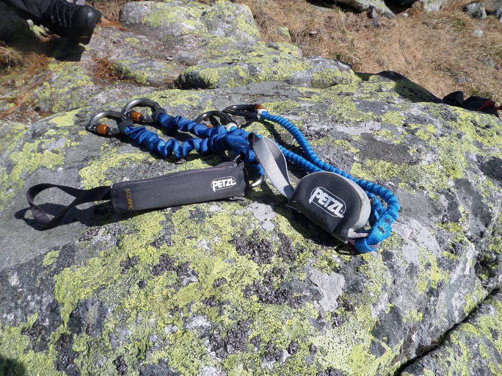 Klettersteigset Neue Norm : Ausrüstung reiseberichte & informationen testbericht: petzl