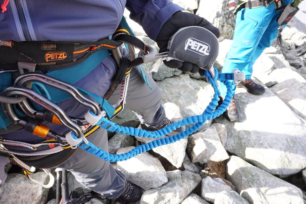 Klettersteigset Im Test : Sicherheit am klettersteig outdoor test