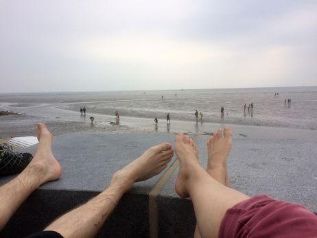 Krabben pulen an der Nordsee  – Kurzurlaub in Büsum