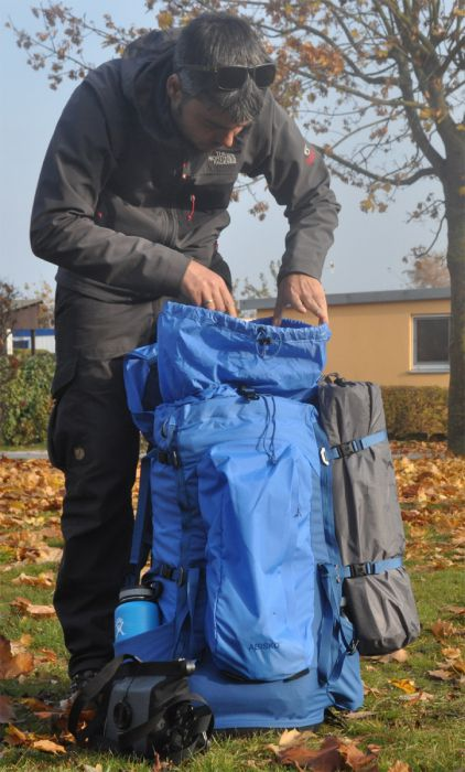 Testbericht: Auch ohne G-1000® absolut genial – auf Tour mit dem Trekkingrucksack Abisko von Fjällräven