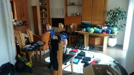 Vorbereitung auf zweijährige Radweltreise