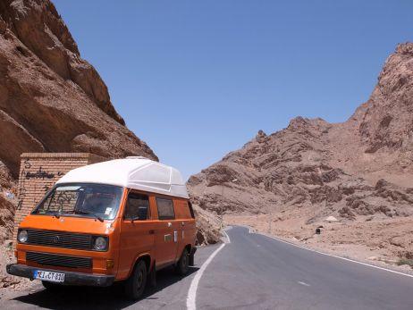 Mit dem Auto quer durch den Iran