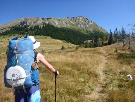 """There and back again – a tapir's tale"" : Testbericht zum Lightning 60 von Exped"
