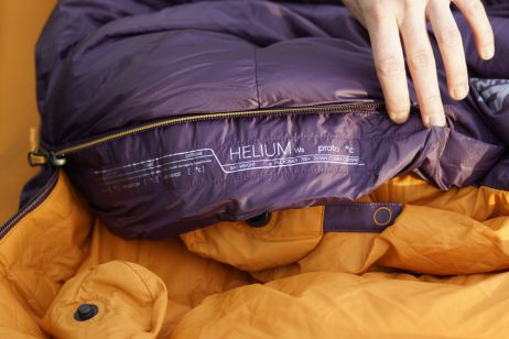 Testbericht: Schlafen wie auf Wolke 7 im Helium 400 von Mountain Equipment
