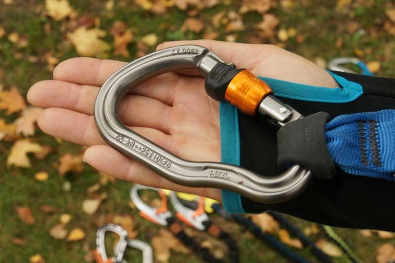 Klettersteig Set Karabiner : Ausrüstung reiseberichte & informationen vergleichstest