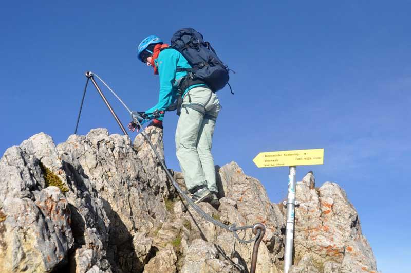 Klettersteigset Im Test : Ausrüstung reiseberichte informationen vergleichstest