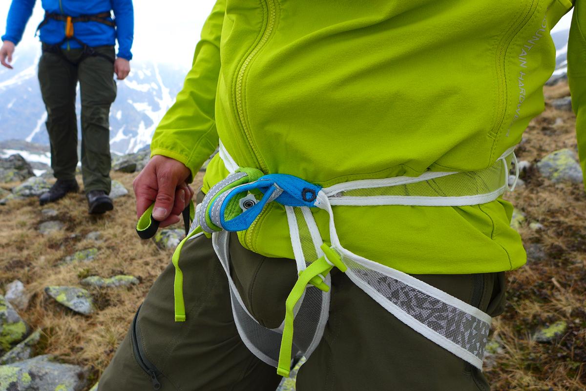 Edelrid Klettergurt Loopo Light : Edelrid loopo light harness outdoor youtube
