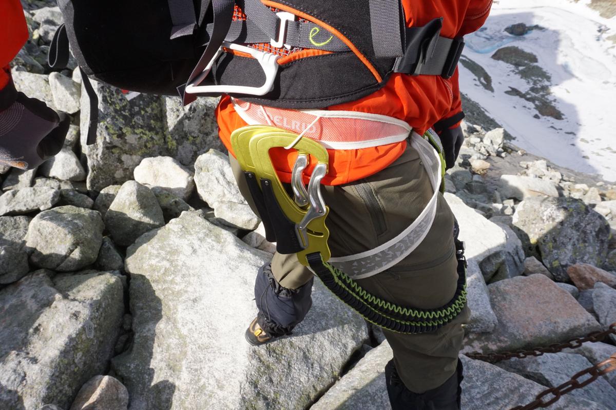Edelrid Klettergurt Loopo Light : Edelrid jester comfort klettersteigset und gurt im test