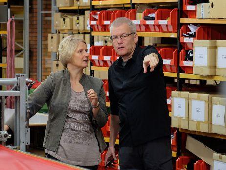 Der Platzwart informiert: Hilleberg Factory Tour 2017