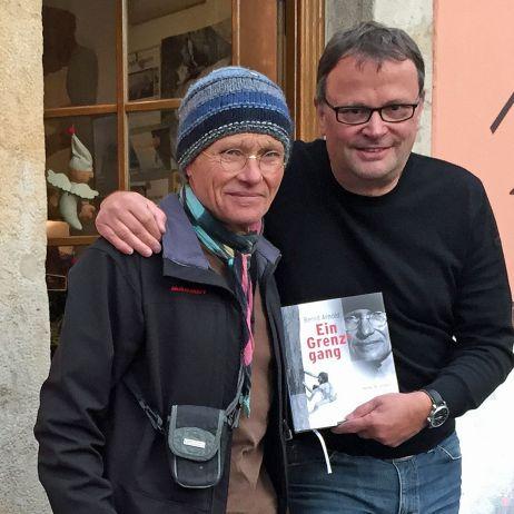 Save the date: Peter Brunnert liest aus seiner Biografie über Bernd Arnold