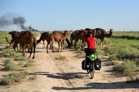 Mit dem Fahrrad durch Turkmenistan