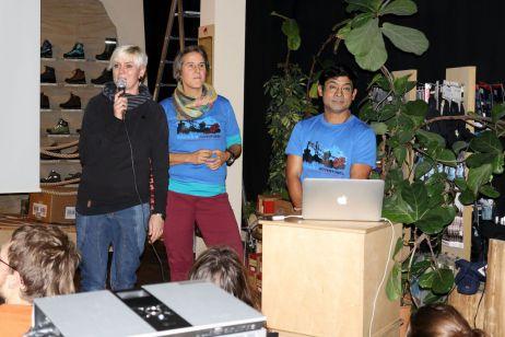 Volles Haus am Sonnabend – Bergführer Satish Man Pati lässt die Herzen höher schlagen