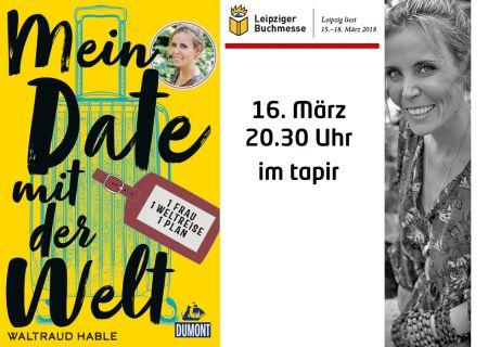 Save the date – Leseoffensive im tapir zur Buchmesse Leipzig 2018
