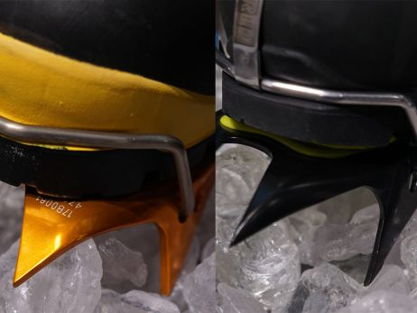 Spitze Helferlein im Eis – Steigeisen