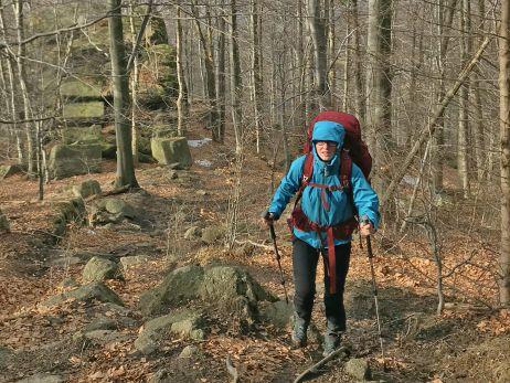 Testbericht: Auf kurzer (Winter-)Tour mit dem Gnaur 60 von Lundhags