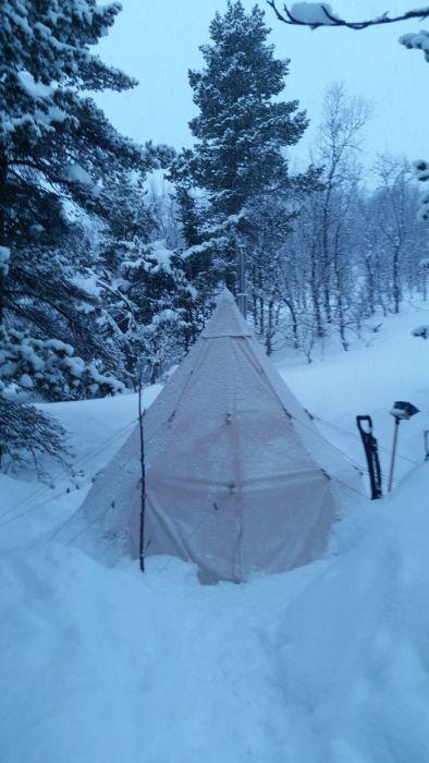 Norwegen: Eine Woche in der Finnmark mit Langlaufskiern und ohne Auto