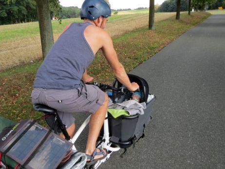 Deutschland: Mit Kind und Lastenrad in der Lausitz