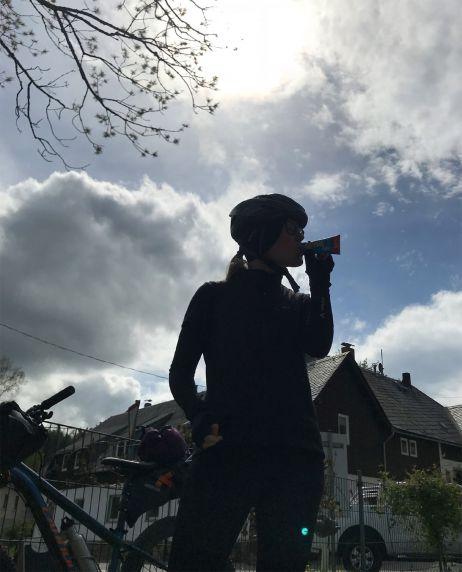 Mountainbike-Tour über den Erzgebirgskamm
