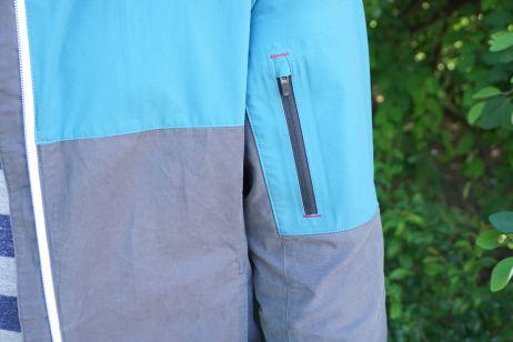 Tasche auf dem Oberarm